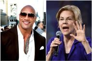 The Rock Gives Elizabeth Warren a Cute Shoutout on <i>Ballers</i>
