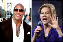 The Rock Shows Off Elizabeth Warren's Book on 'Ballers' Premiere