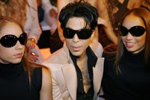 US singer Prince is pictured during Ital