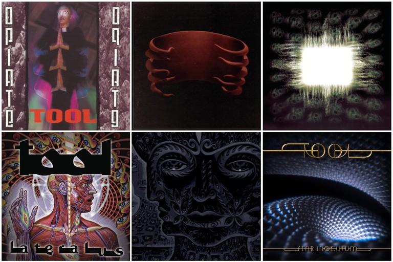 Tool album covers
