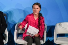 Greta Thunberg Gives Donald Trump the Death Stare at UN