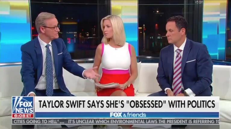 'Fox & Friends' Hosts Try to Roast Taylor Swift's Political Beliefs