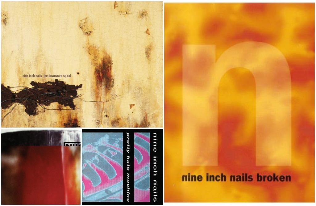 Nine Inch Nails albums poll pretty hate machine, the fragile, downward spiral, broken