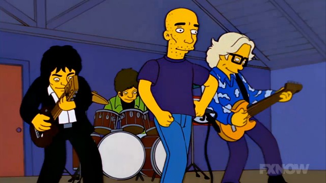 REM and Michael Stipe on The Simpsons
