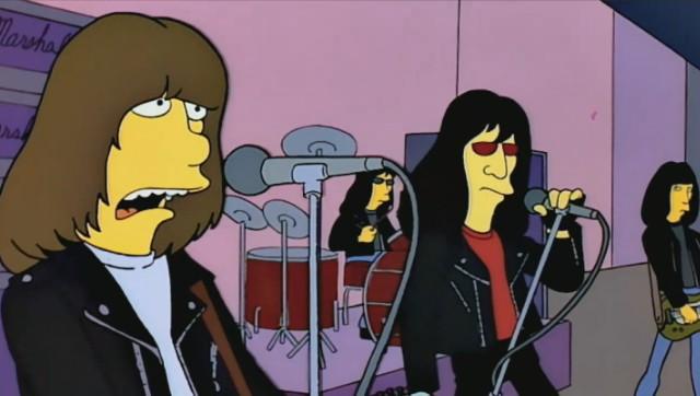 The Ramones on The Simpsons