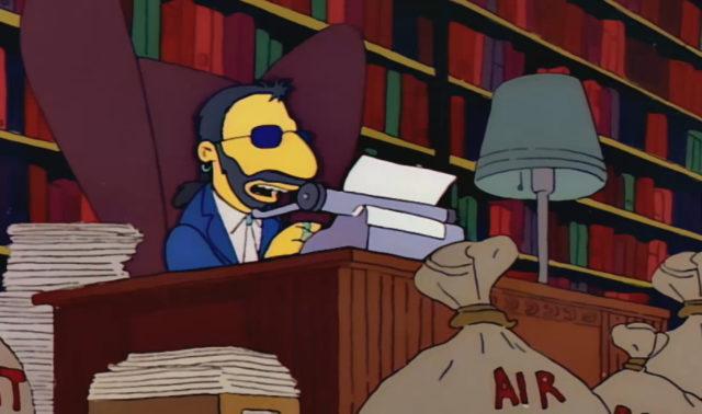 Ringo Starr on The Simpsons