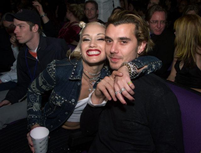 Gwen Stefani and Gavin Rossdale in 2000