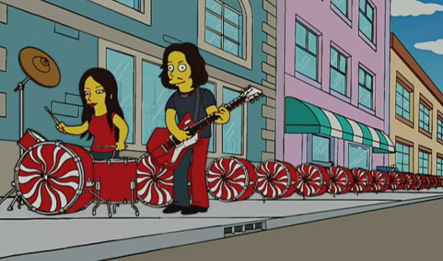 The White Stripes on The Simpsons