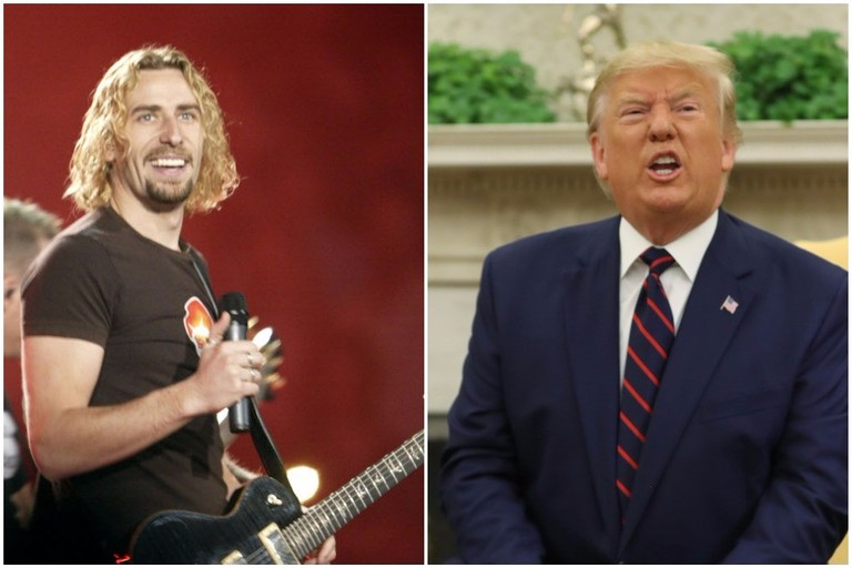 "Trump Invokes Nickelback's ""Photograph"" in Biden Feud"