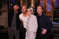 Coldplay Dance Along With the Audience in Theatric <i>SNL</i> Performance