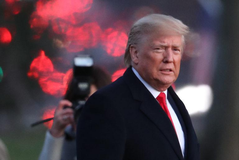 Donald Trump on Impeachment Day