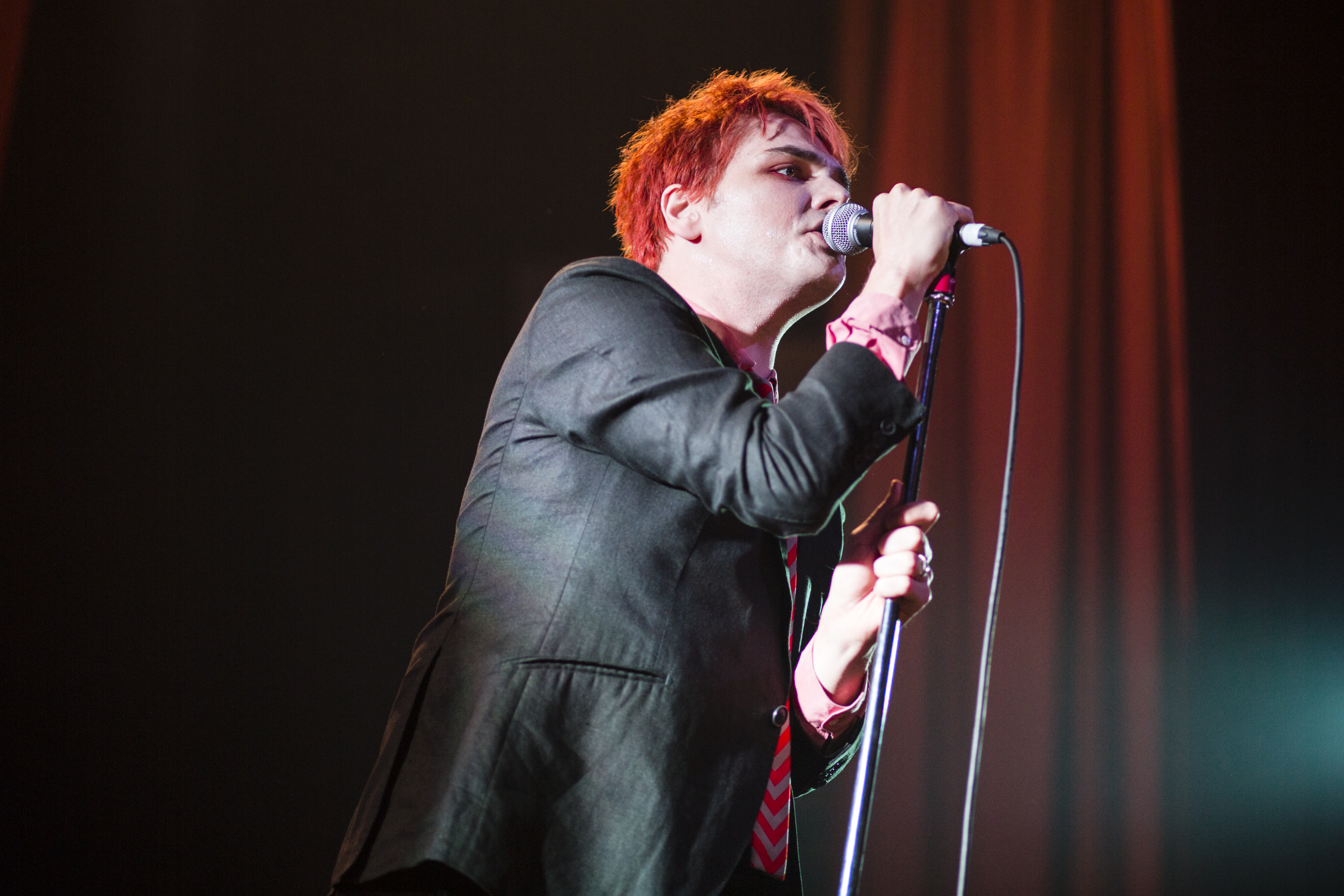 Gerard Way Performs At The Ritz In Manchester