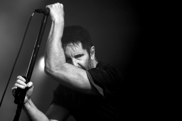 Trent Reznor of Nine Inch Nails performing in 2017