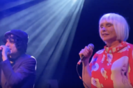 "Debbie Harry and Jesse Malin Cover The Pogues' ""Fairytale Of New York"" at <i>London Calling</i> 40th Anniversary Celebration"