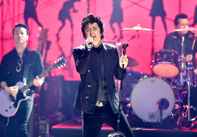 Green Day performing for Dick Clark's New Year's Rockin Eve 2019