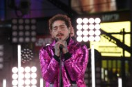 """Post Malone Performs """"Circles"""" & """"Congratulations"""" at New Year's Rockin' Eve"""