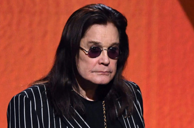 Ozzy Osbourne presenting at the 62nd Annual Grammy Awards