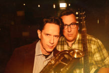 John Linnell and John Flansburgh of They Might Be Giants