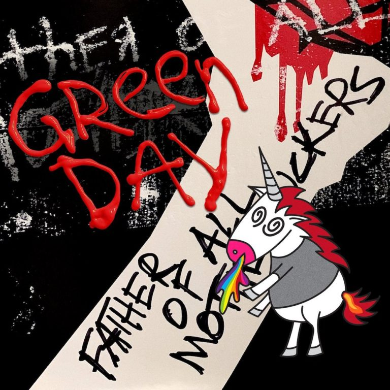 Green Day 13th Album Cover