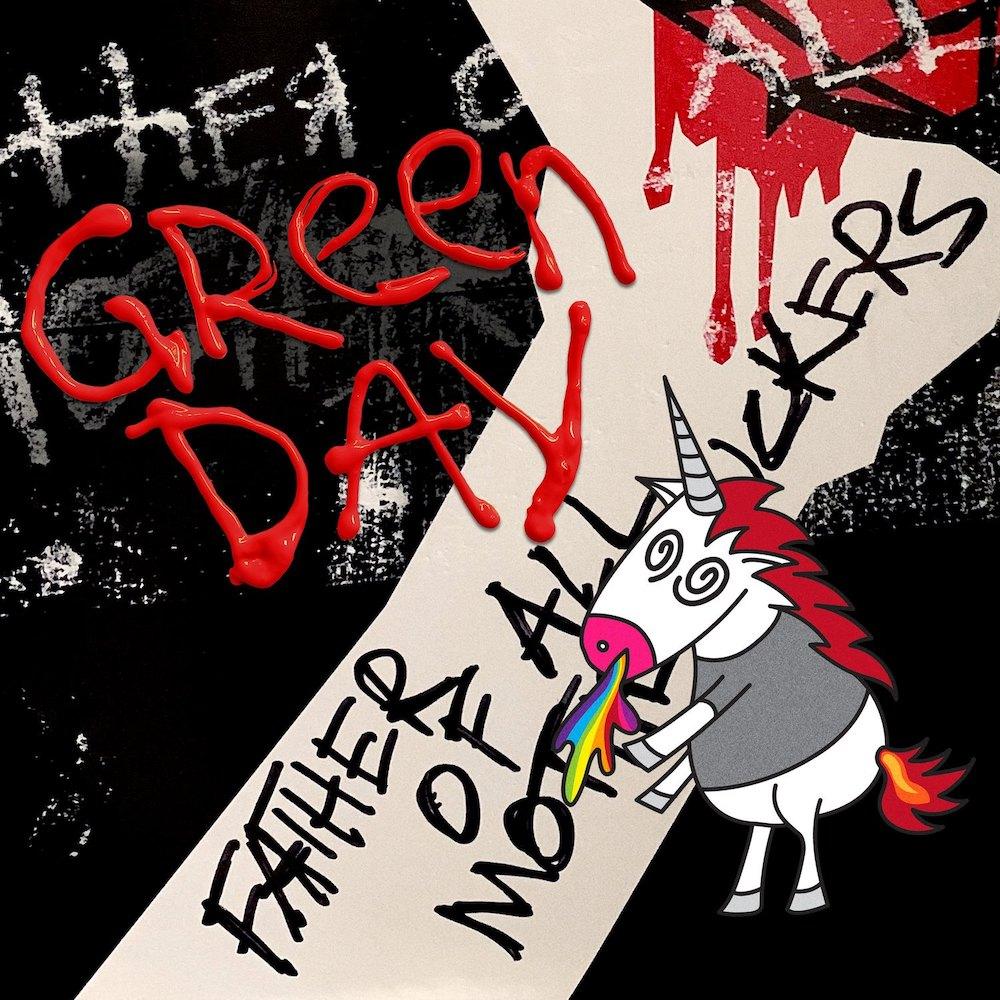 Green Day 13th Album Cover