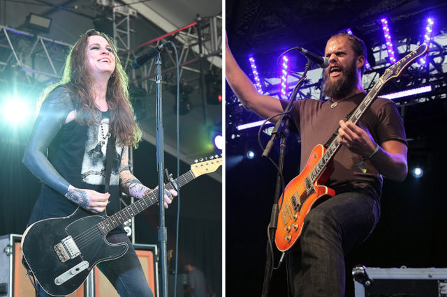 Against Me! and Baroness