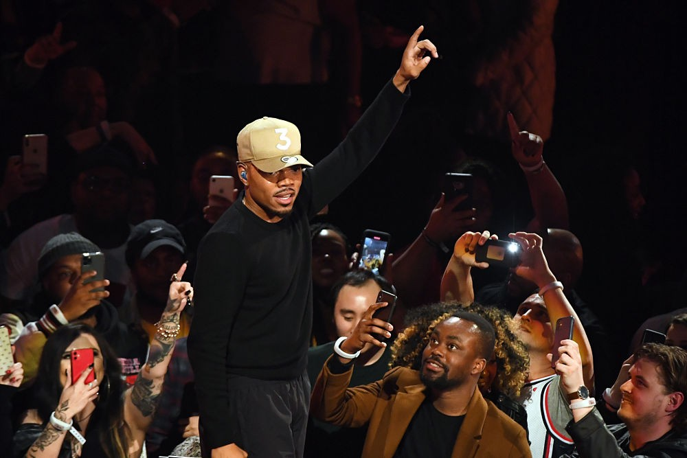 Chance The Rapper NBA All-Star Game 2020