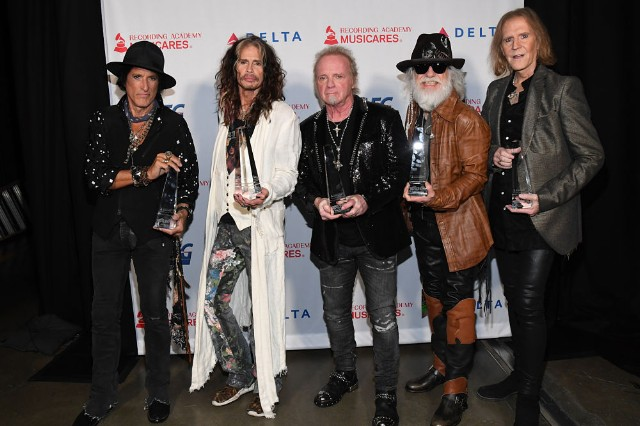Aerosmith at MusiCares Person Of The Year 2020