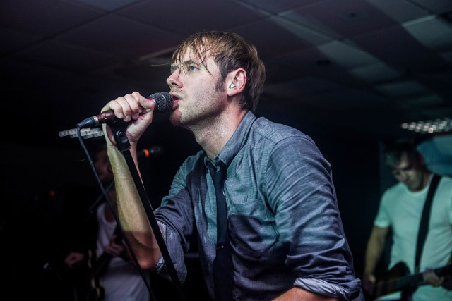 Geoff Rickly No Devotion Perform At Cardiff University