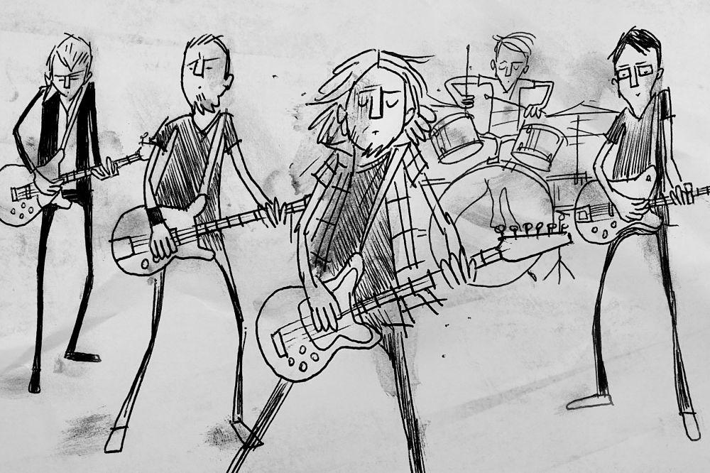 Pearl Jam Superblood Wolfmoon Animated clip