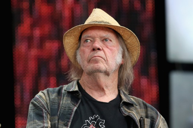 Neil Young at Farm Aid