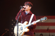 Vampire Weekend Perform at Iowa Caucus Rally for Bernie Sanders