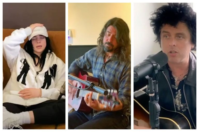 dave grohl billie eilish billie joe armstrong