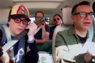 Weezer and Fred Armisen Try to Sing 'Buddy Holly on 'Carpool Karaoke'