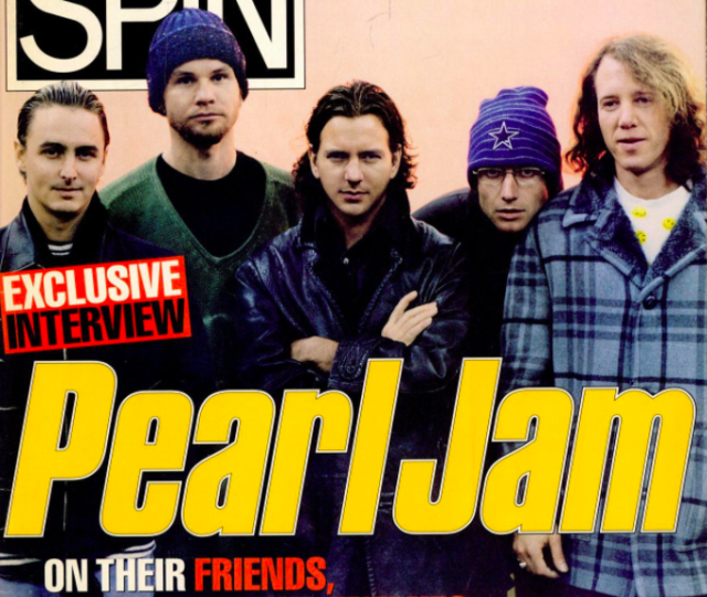 Pearl Jam SPIN