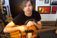 Ben Gibbard Plays 'Cleveland,' 'Champagne From a Paper Cup' in Early Death Cab Rarities Livestream Set