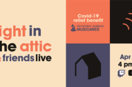 Ben Gibbard, Jim James, Fred Armisen, Jarvis Cocker to Play COVID-19 Benefit Stream