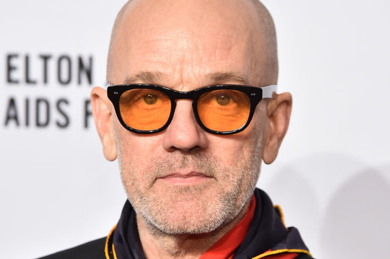 Michael Stipe sings 'Underneath the Bunker' while in quarantine.