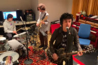 Billie Joe Armstrong and His Sons Perform 'I Think We're Alone Now'