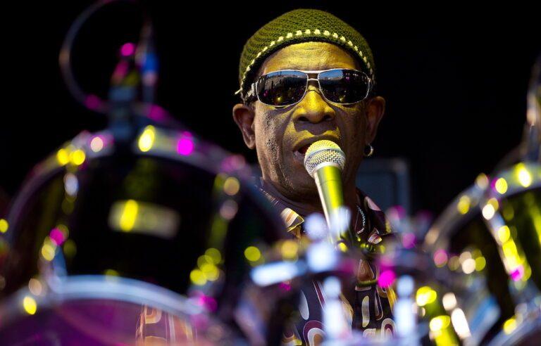 Nigerian drummer Tony Allen appears on t