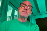 Michael Stipe Performs 'No Time for Love Like Now' on <i>Late Show</i>