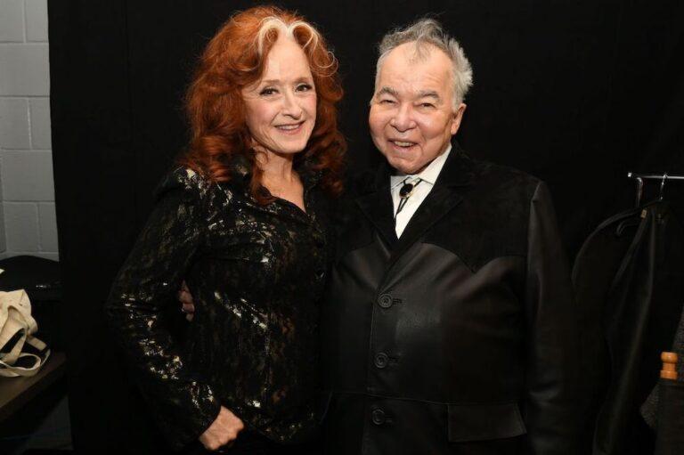 Bonnie Raitt and John Prine