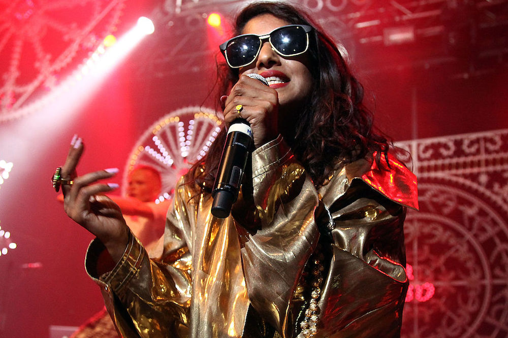 M.I.A. teases new song