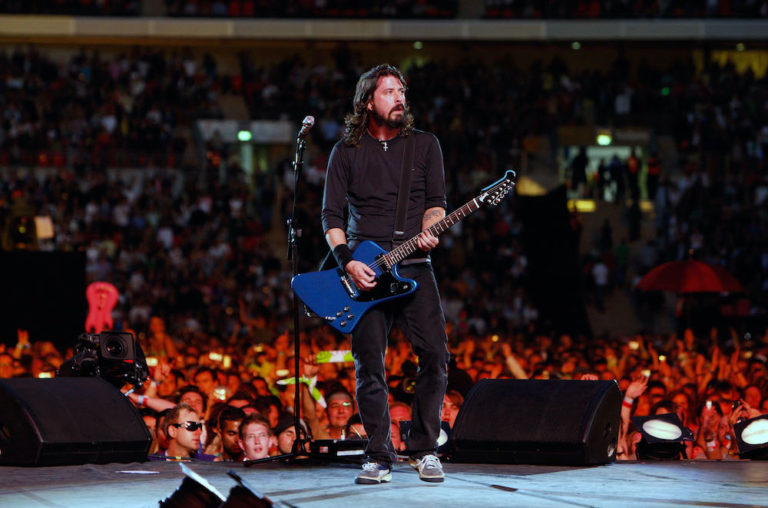 Foo Fighters Dave Grohol