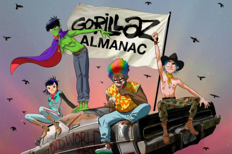 Gorillaz Alamanc 2020