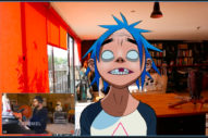 Gorillaz's 2-D and Damon Albarn Perform 'Aries' on <em>Kimmel Live</em>
