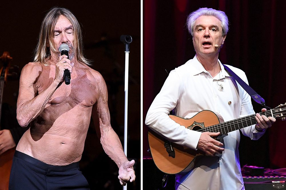 Iggy Pop David Byrne