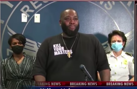 Killer Mike Tells Atlanta Protestors to 'Not to Burn Your Own House Down for Anger' in Emotional Plea