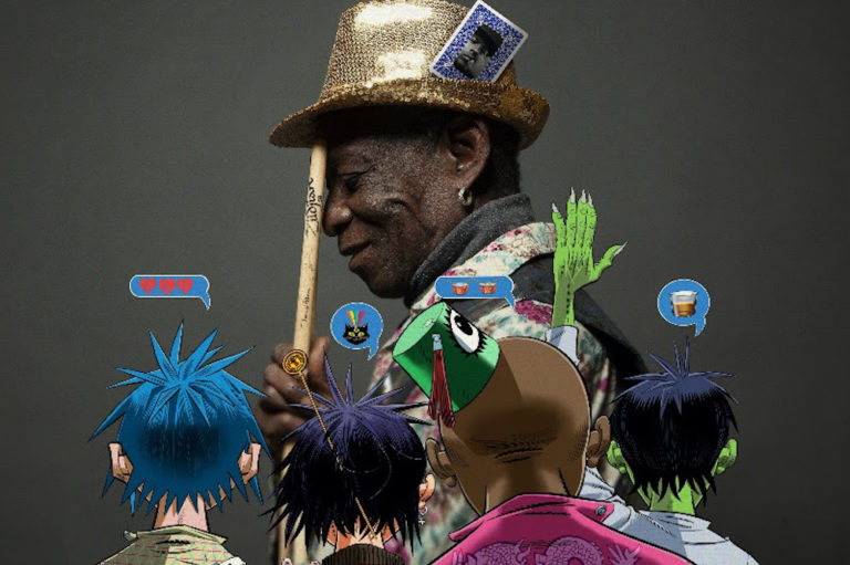 Gorillaz Tony Allen tribute