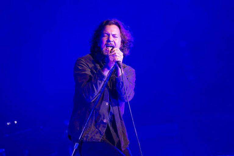 Eddie Vedder of Pearl Jam in 2012