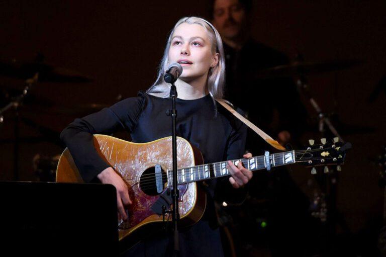 Phoebe Bridgers Live onstage